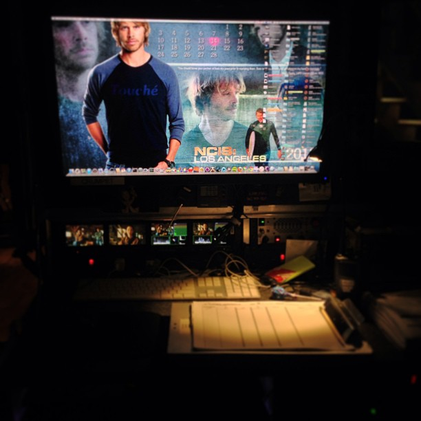 NCISLA Behind The Scenes Picture Season 4 Episode 18