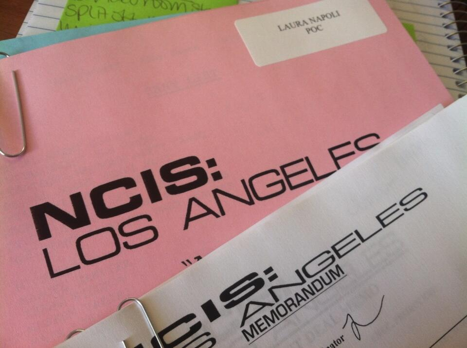 NCIS Los Angeles BTS Picture