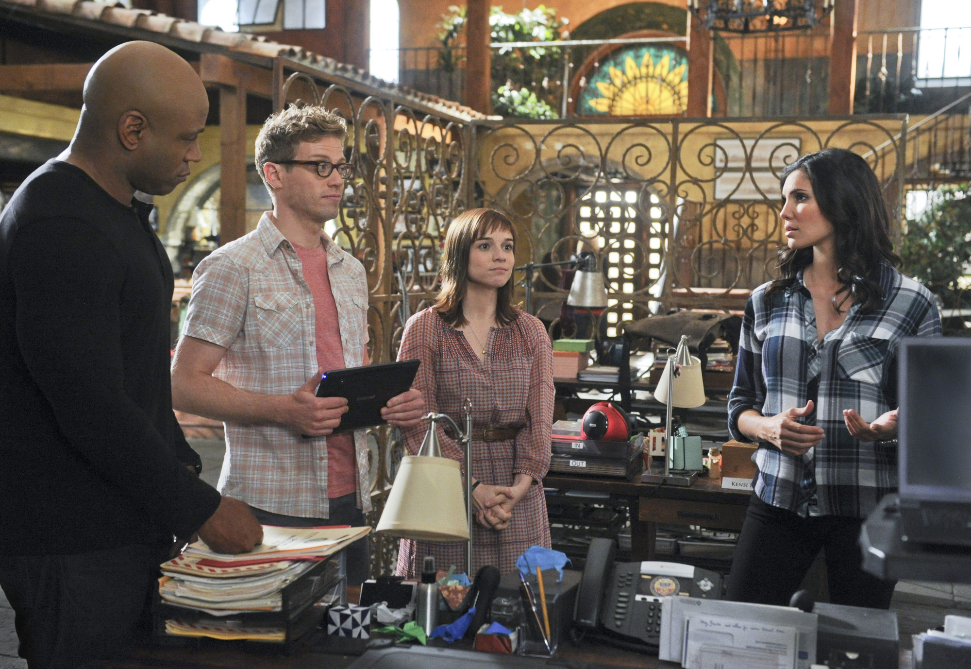 "NCIS Los Angeles Season Five Episode Four ""Big Brother"" Promo Picture"