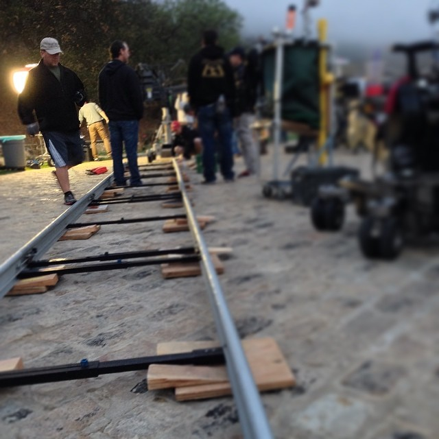 "NCIS Los Angeles ""Three Hearts"" BTS Picture"