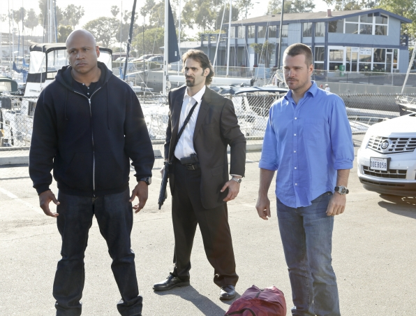 "NCIS Los Angeles ""Three Hearts"" Promo Picture"