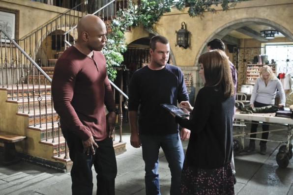 "NCIS Los Angeles Season Five Finale ""Deep Trouble"" Promo Picture"