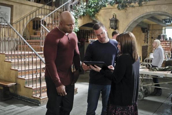 "NCIS Los Angeles Season Five Finale ""Deep Trouble"" Promo Picture"