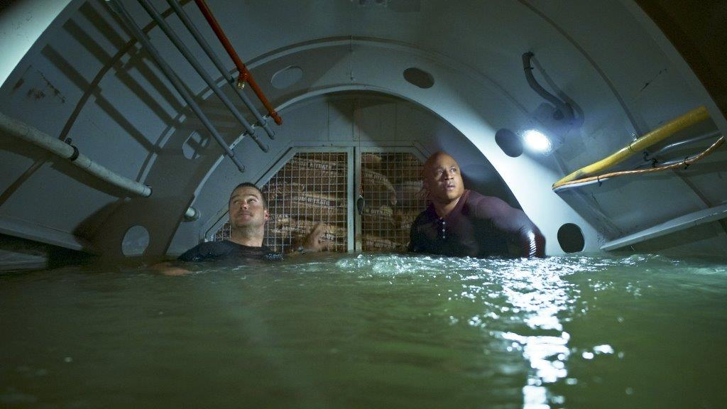 "NCIS Los Angeles ""Deep Trouble II"" Promo Picture"