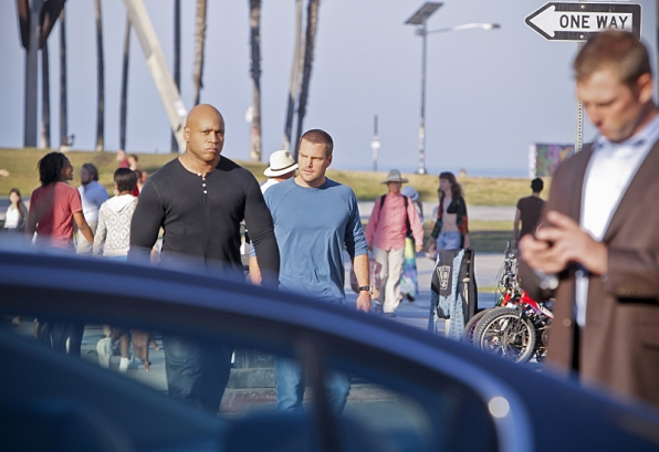 "NCIS Los Angeles ""The 3rd Choir"" Promotional Picture"