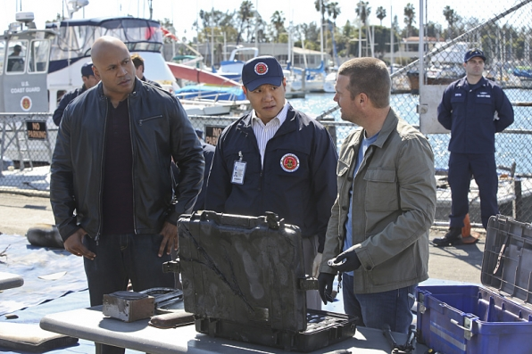 NCIS Los Angeles 'Blaze Of Glory' Promo Picture
