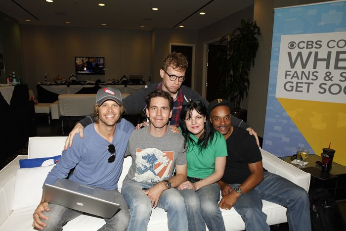 NCISLA Stars at CBS Tweet Week