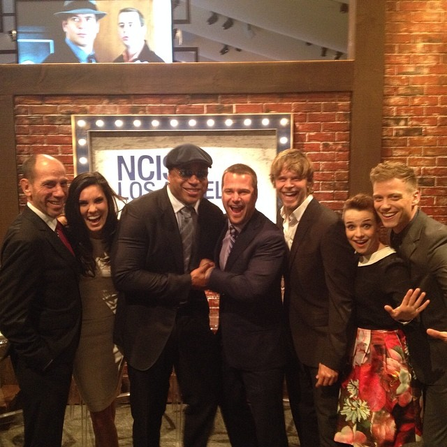 NCIS Los Angeles Cast At CBS Upfronts 2014