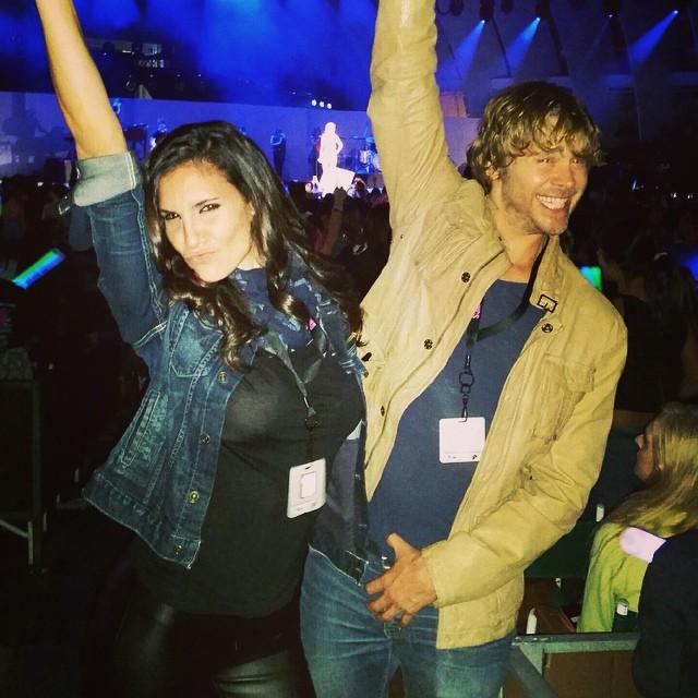 Daniela Ruah & Eric Christian Olsen at WCS