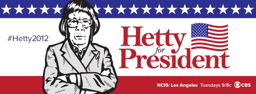 Hetty for President T-Shirt