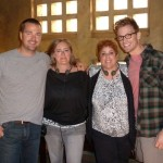 sindee & Diane with Barrett Foa & Chris O'Donnell ©sindee