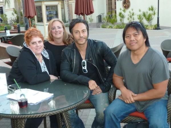 sindee & Diane with Dave Kalstein & Rafael Kayanan