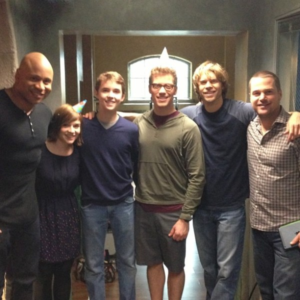 NCISLA Cast Behind-The-Scenes Picture