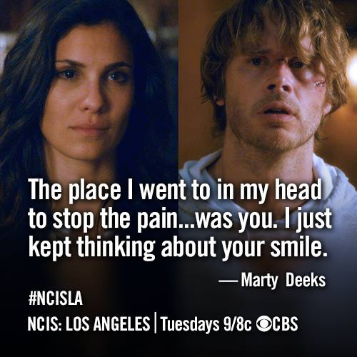 NCIS LA Deeks and Kensi