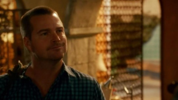 So Callen's over the tat thing... and into the body piercing thing ?? NO WAY !!