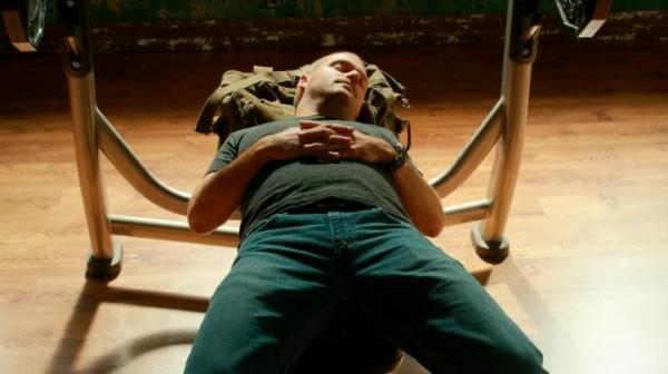 """Callen """"resting between sets""""... LOL"""
