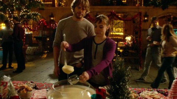 Pull up your skirt and drink. Loving the Nell & Deeks banter !!