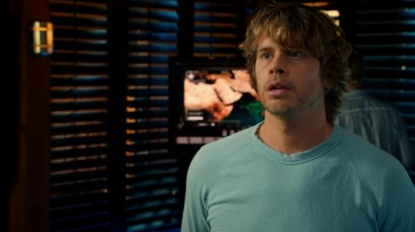 Oh, that look when Kensi's not there - heartbreaking...