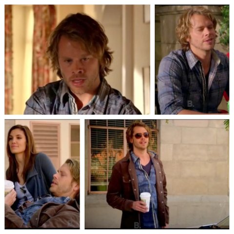 NCISLA Season 1 Deeks Plaid