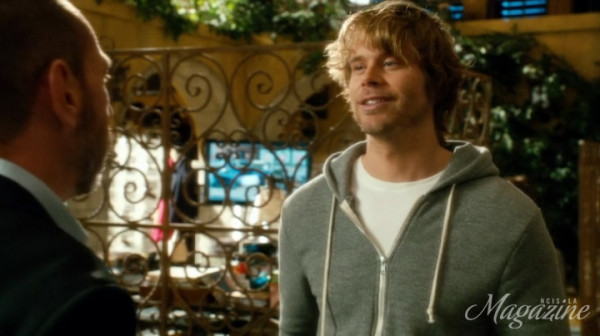 Deeks asking Granger to back him up ?? *checks surface of hell*