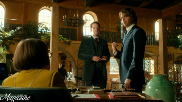 """Suit Deeks"" teaming up with ""Downtown Abbey""."