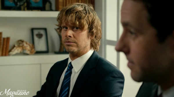 Deeks' look summed up my thoughts... Niiice, Nate !!