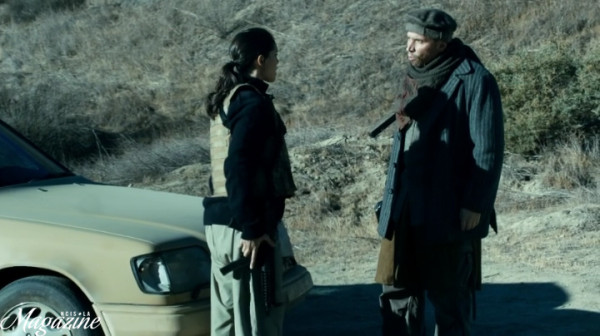 Little heart-to-heart between Kensi and Sabatino... and we still have no clue...