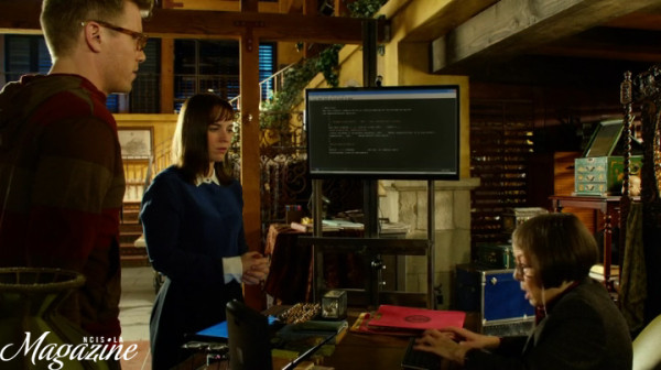 Hetty was there when they invented the Internet ?? Why am I not surprised...