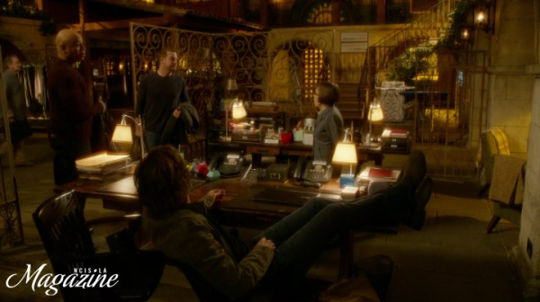 The guys so NOT having Deeks' back ?? Like real brothers !! ;)