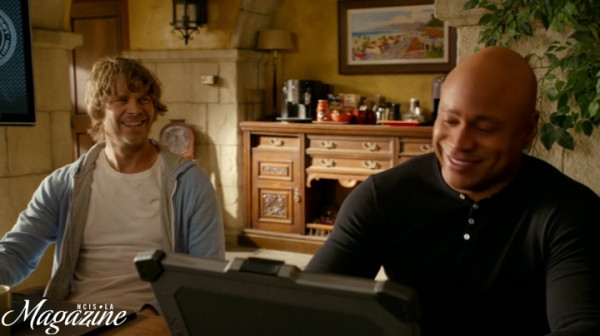But the new Deeks & Sam (is it 'Seeks' or 'Dam' ??) banter is too gorgeous !!