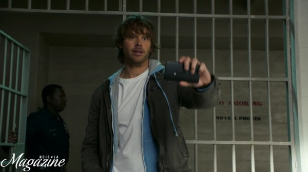 Awesome Deeks scene here !!