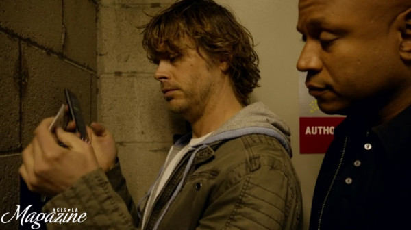 Deeks & Sam paired up again... I'm SO beginning to like this/them !!
