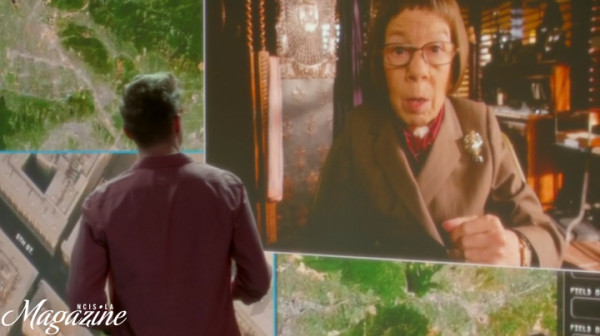 """Try not to get arrested this time."" Hetty's sweet way of saying - GO !!!"