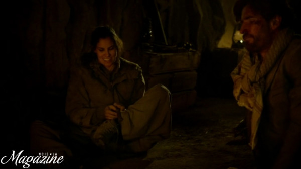 Yeah, Kensi's *tribe* will get her !!