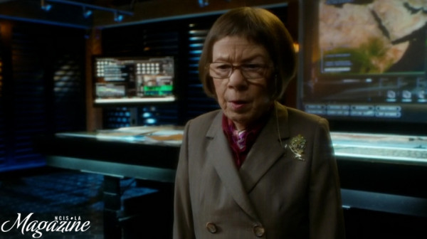 Oh my... Hetty's REALLY concerned...