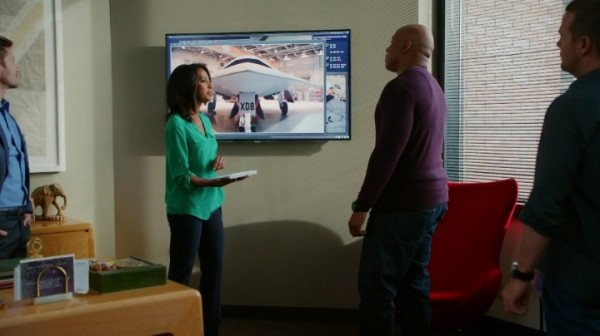 Callen & Sam are so not buying that mother's story... neither am I !!