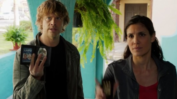 Yeah, rub it in that Deeks still isn't an Agent !! ;)