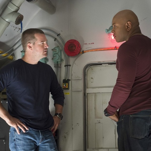What do you mean you lost the key? #ncisla #itsbeenfourmonthsgetmeoutofthissub -- @ChrisODonnell