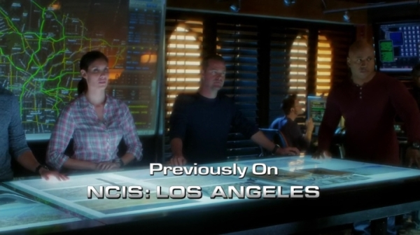 Previously on NCIS Los Angeles...
