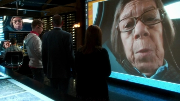 """Mr. Beale, if you turn this off, you're going to regret it long after your wounds have healed."" Woah, Hetty !!"