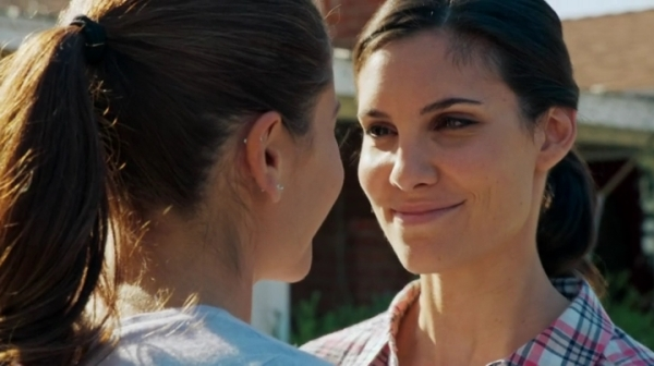 Careful when Kensi smiles at you like this. You're about to get headbutted...