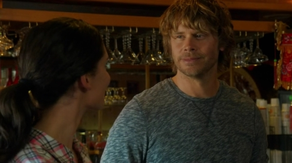 """You're going to be a beautiful bride."" ""I agree."" Wow, from silly to profound in millisecs... Kudos, Deeks !!"