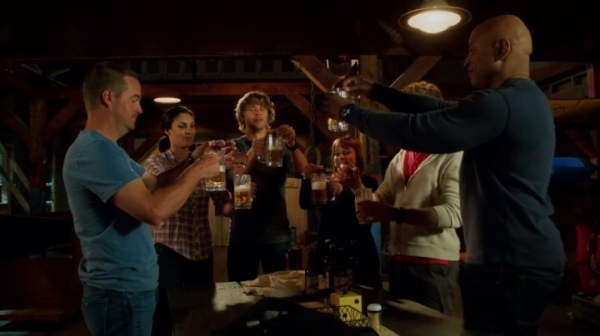 To friends... and partner... and an awesome new season of NCIS Los Angeles !! :)