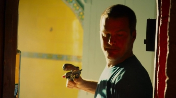 Callen prepping to hit the gun with the gun ?? Now that's desperate...