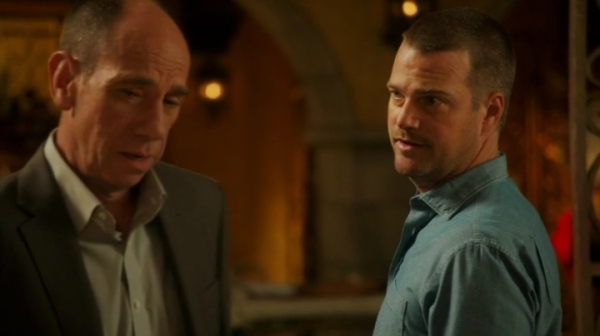 Callen inviting Granger to join the guys for a drink ?? *checks if hell is still accessible*