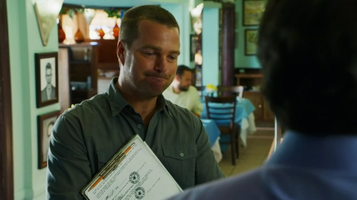 Callen - the Health Inspector... HI-LA-RI-OUS !!