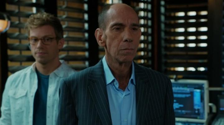 Granger is acting strange, no ?? And where's Hetty, btw ??