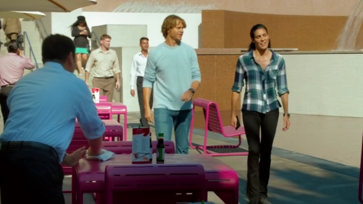 Deeks complaining about Kensi's eating habits... Never gets old ?? Or does it ?? What do you think ??
