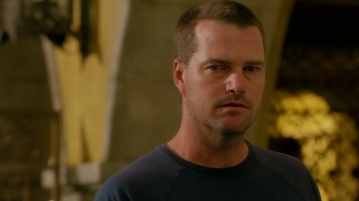 And Callen thinks about what it's like to have his father watch over him...