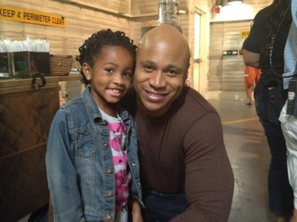 """It's a wrap for #NCISLA with @llcoolj!! #coolestdayever!!"" -  @TheRealLaylaC (12/8/12)"